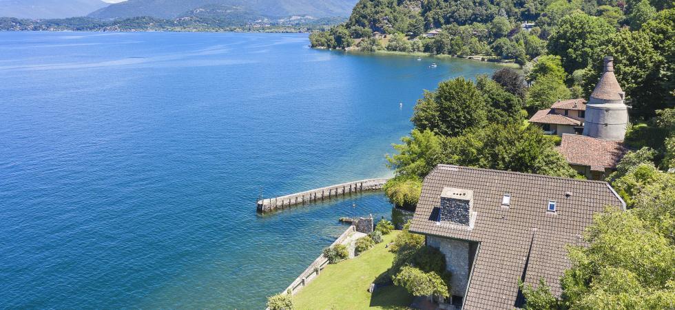 Villa Cinderella - Ispra, Lake Maggiore - NORTHITALY VILLAS waterfront vacation home rentals