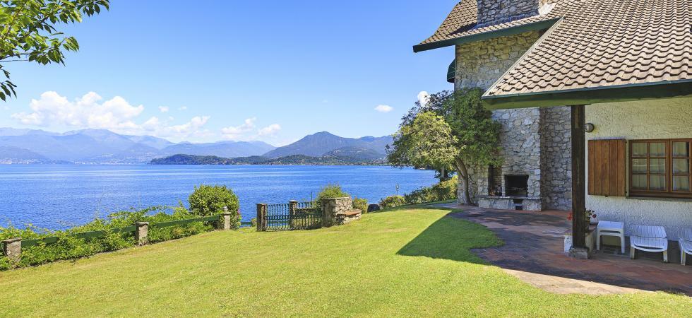 Villa Cinderella - Ispra, Lake Maggiore - NORTHITALY VILLAS vacation villa rentals luxury