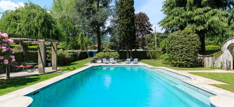 Villa Ida - Lesa, Lake Maggiore - NORTHITALY VILLAS holiday house rentals