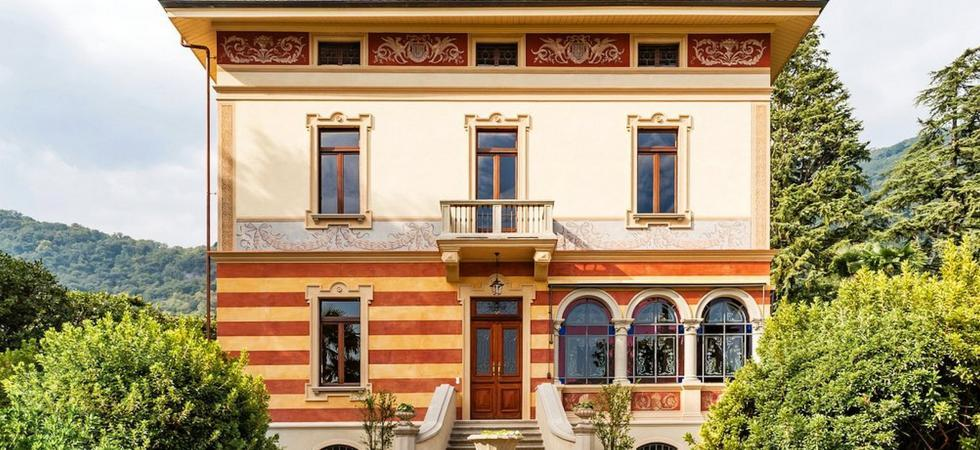 1236) Villa Magnolia, Cannero Riviera