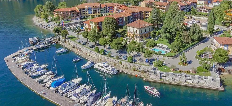 1237) Villa Magnolia, Cannero Riviera