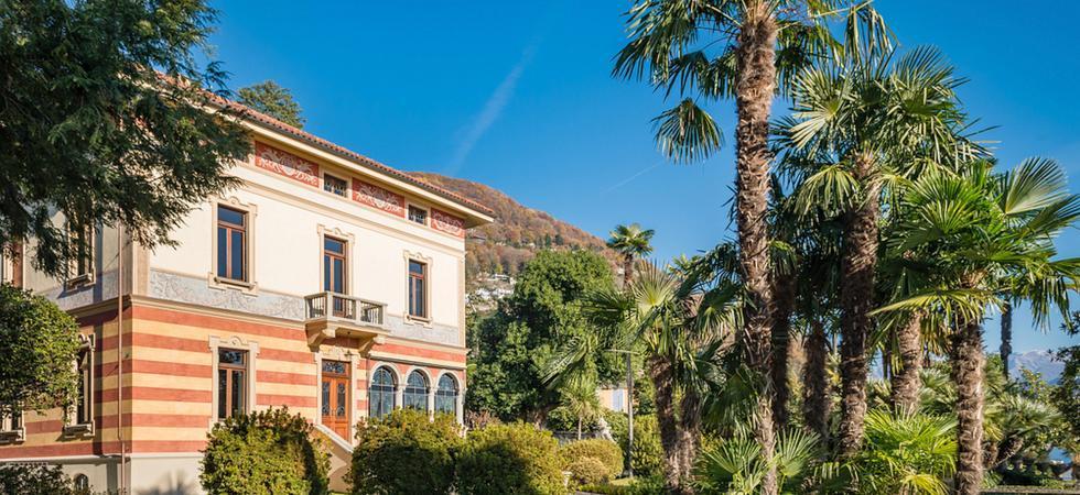 1238) Villa Magnolia, Cannero Riviera