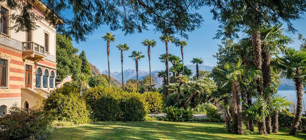 1239) Villa Magnolia, Cannero Riviera