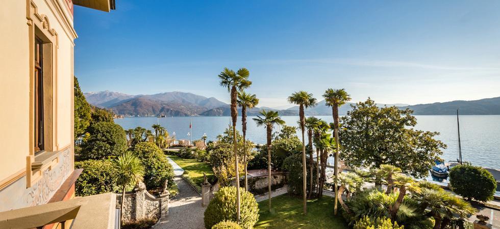 1240) Villa Magnolia, Cannero Riviera