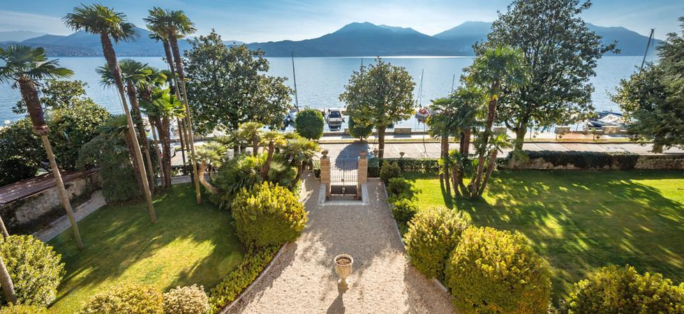 1241) Villa Magnolia, Cannero Riviera