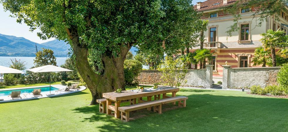 1244) Villa Magnolia, Cannero Riviera