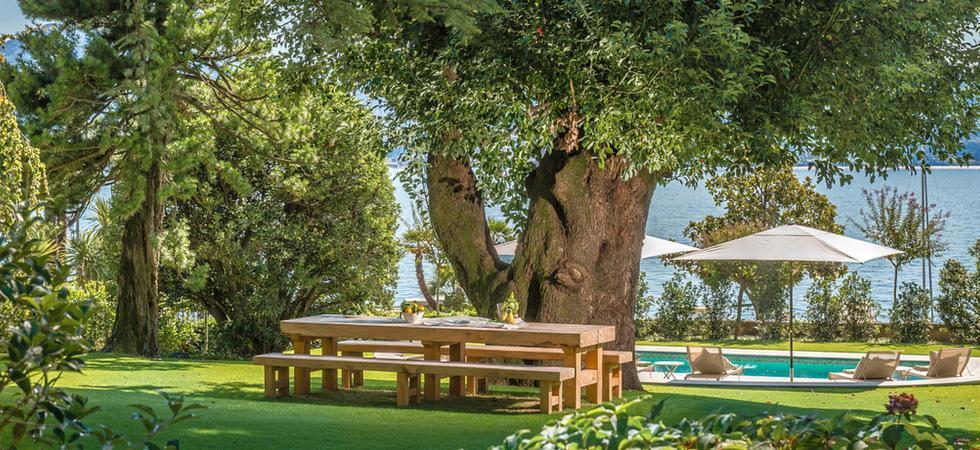 1245) Villa Magnolia, Cannero Riviera