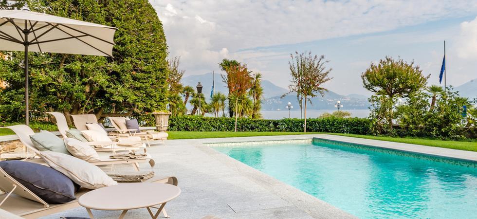 1249) Villa Magnolia, Cannero Riviera