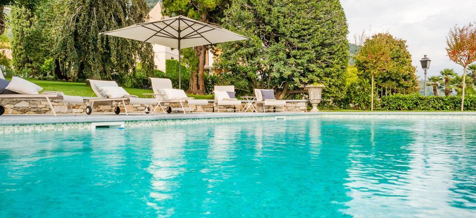 1250) Villa Magnolia, Cannero Riviera