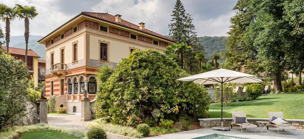 1251) Villa Magnolia, Cannero Riviera