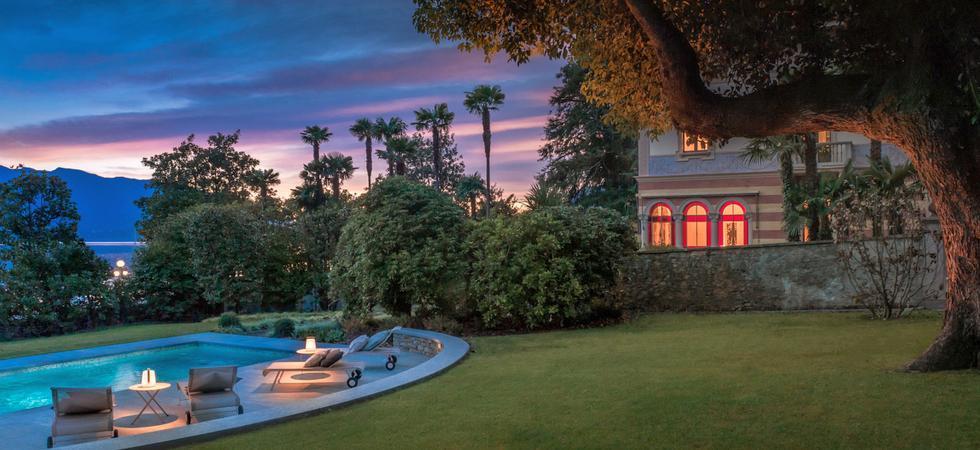 1252) Villa Magnolia, Cannero Riviera