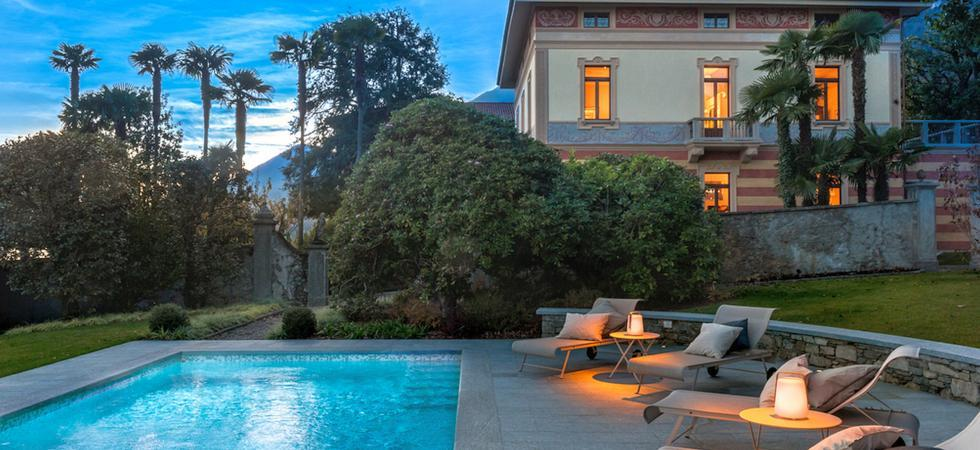 1253) Villa Magnolia, Cannero Riviera