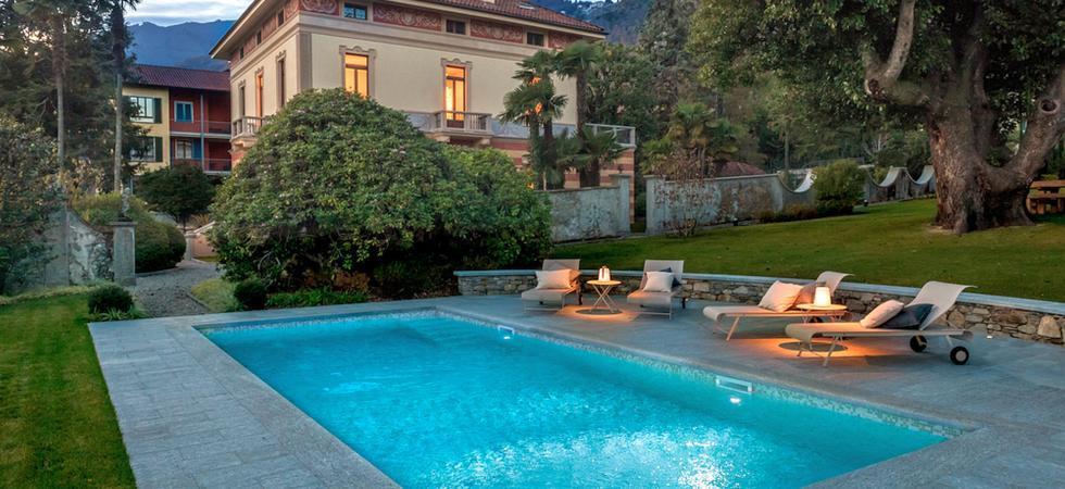 1254) Villa Magnolia, Cannero Riviera