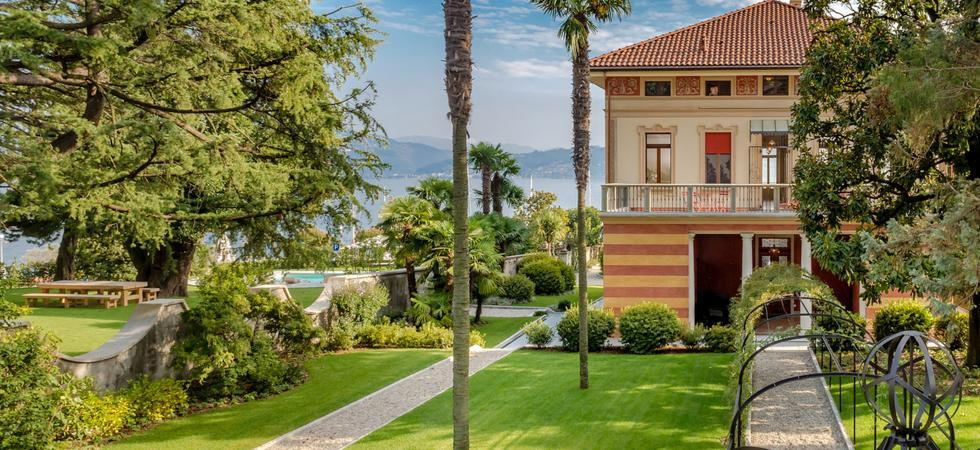 1255) Villa Magnolia, Cannero Riviera