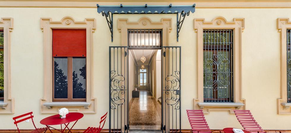 1275) Villa Magnolia, Cannero Riviera