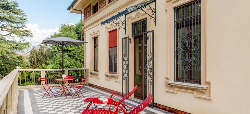 1277) Villa Magnolia, Cannero Riviera