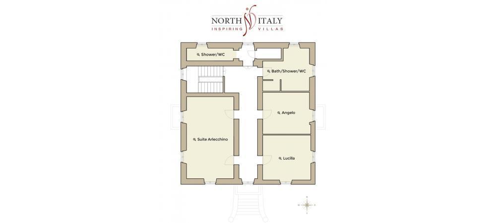 2442) Villa Magnolia, Cannero Riviera