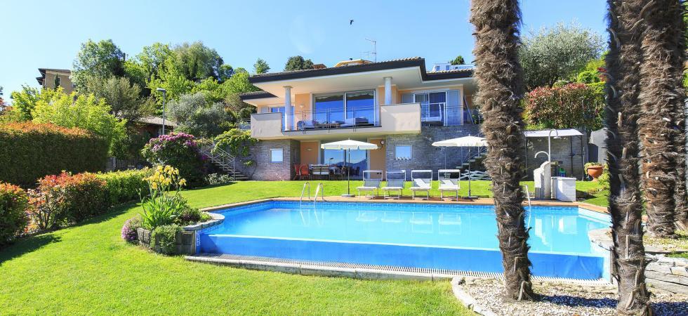 Villa Seta - Meina, Lake Maggiore - NORTHITALY VILLAS vacation home rentals