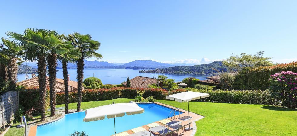 Villa Seta - Meina, Lake Maggiore - NORTHITALY VILLAS vacation home lettings