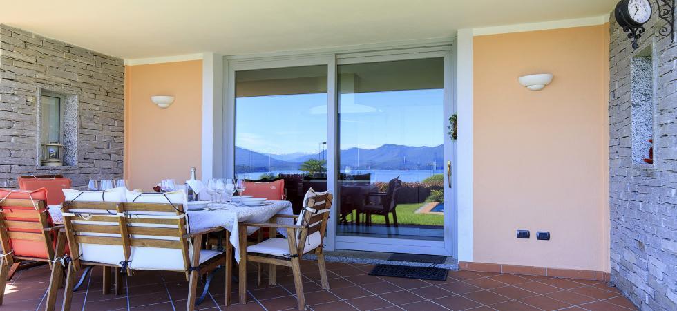 Villa Seta - Meina, Lake Maggiore - NORTHITALY VILLAS vacation villa rentals