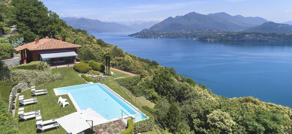 1679) Villa Falcone 5 BEDROOMS 10 PAX, Stresa