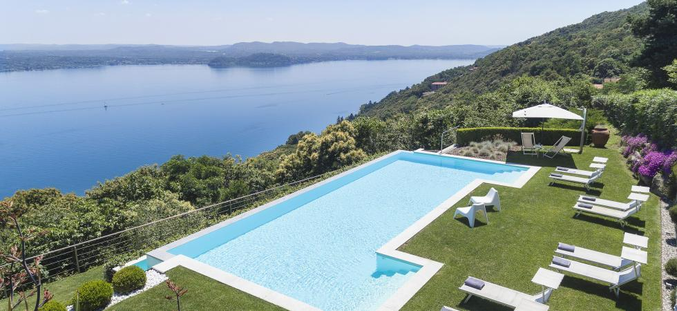 1683) Villa Falcone 5 BEDROOMS 10 PAX, Stresa