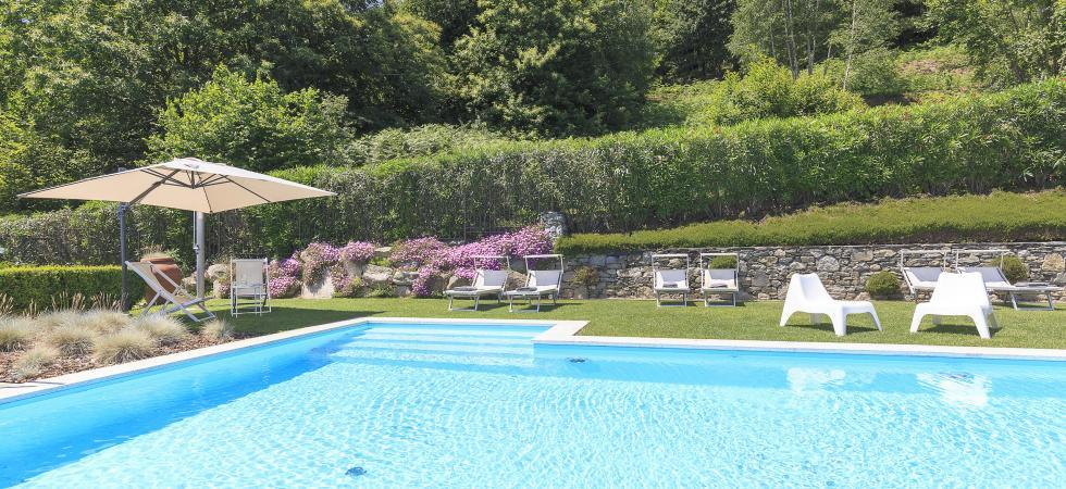 1687) Villa Falcone 5 BEDROOMS 10 PAX, Stresa