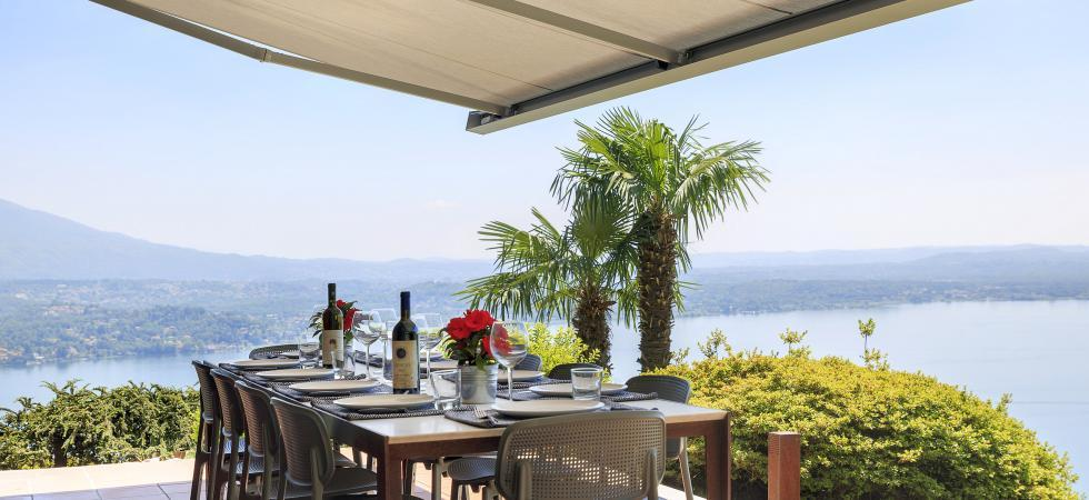 1699) Villa Falcone 5 BEDROOMS 10 PAX, Stresa